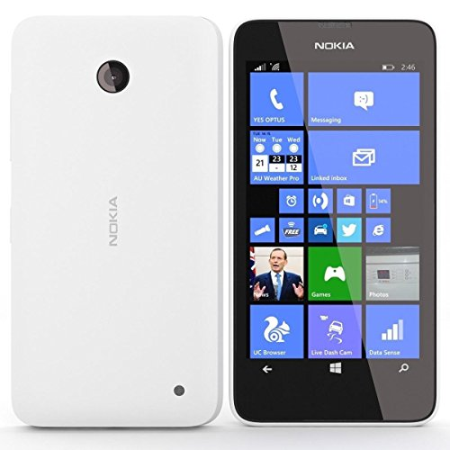 Nokia Lumia 635 RM-975 Unlocked GSM LTE Windows 8.1 Quad-Core Phone - White