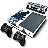 Xbox One Console Skin Decal Sticker Watch Dogs 2 + 2 Controller & Kinect Skins Set ...