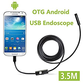 Amazon.com: Fantronics 7mm Android Endoscope OTG Micro USB Endoscope ...