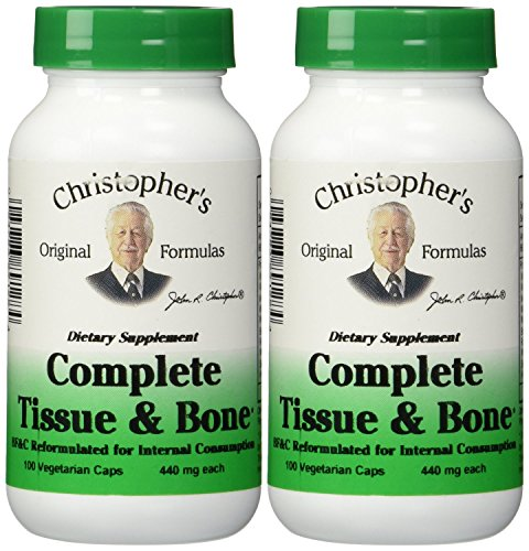 - Dr. Christophers Formulas Complete Tissue and Bone, 440mg, 100 capsules (3 Pack)
