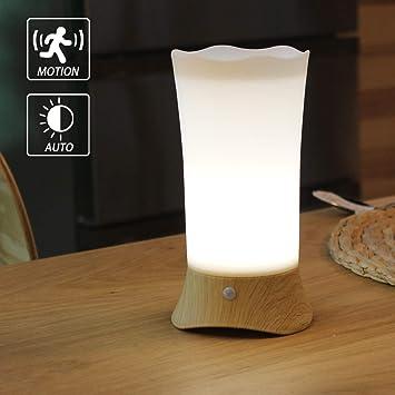 Amazon.com: wralwayslx Lámparas de mesita de noche, lámpara ...