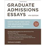 Donald asher graduate admissions essays