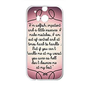 Artistic note Cell Phone Case for HTC One M8