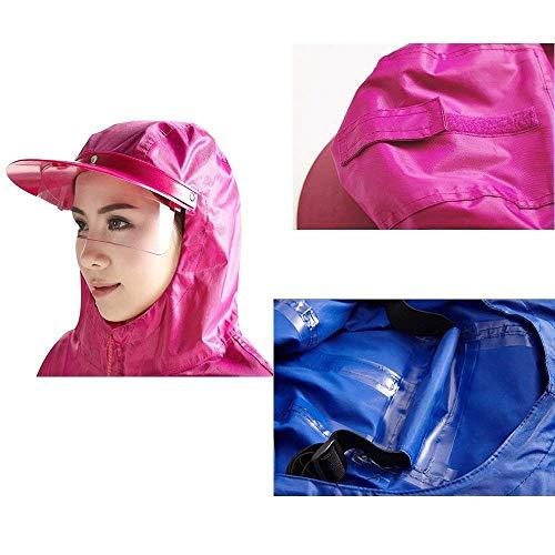 Monocromo Eleganti Adulto Cute Traspirante Poncho Incappucciato Pioggia Cape Plus Outdoor Sciolto Chic Moda A Poncho Pioggia Impermeabile Donna Prodotto Casual nF8RwF