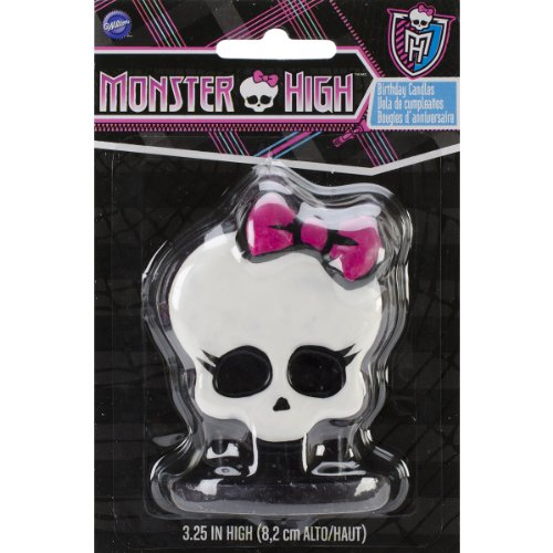 Wilton 2811-6677 Monster High Birthday Candles