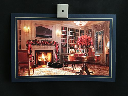 President Barack Obama 2011 Official White House Christmas Holiday Card X-Mas