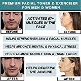 Jawline Exerciser for Men & Women, Food Grade Jaw