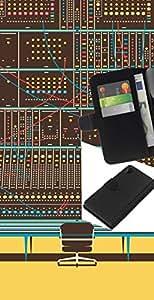 JackGot ( Panel de control digital ) Sony Xperia Z2 D6502 la tarjeta de Crédito Slots PU Funda de cuero Monedero caso cubierta de piel