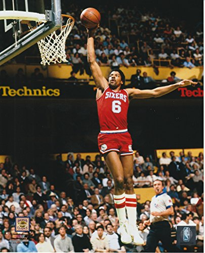 Julius Erving Philadelphia 76ers Unsigned Licensed Basketball Photo 2 from Photo File