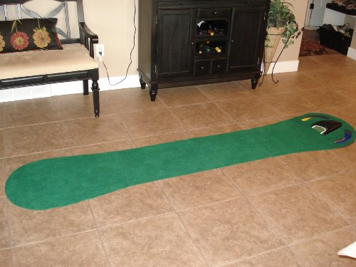 Large Putting Mat with automatic ball return by Ajillis (Image #2)