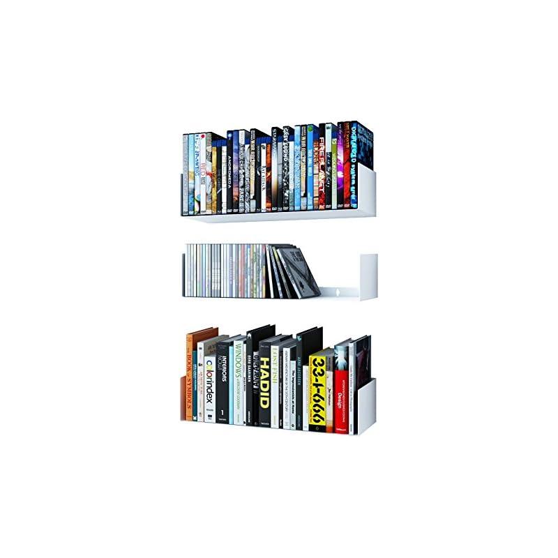 Wallniture Bali U Shape Bookshelves - Wa