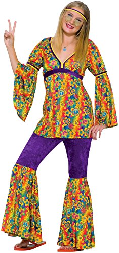 Forum Novelties Children's Costume Teenz - Purple Haze Hippie (Ages 14 to 18) -