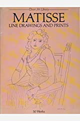 Matisse Line Drawings and Prints: 50 Works (Dover Art Library)