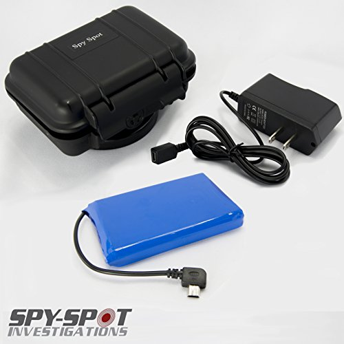 SpySpot Slim Extended Battery for GPS Tracker GL 200 GL 300 Enduro Pro ()