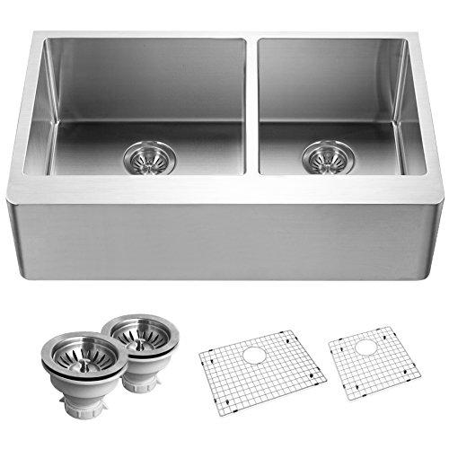 Elkay D23322MR2 22 Gauge Stainless Steel 33 X 22 X 6.5625 Double Bowl Top Mount Kitchen Sink