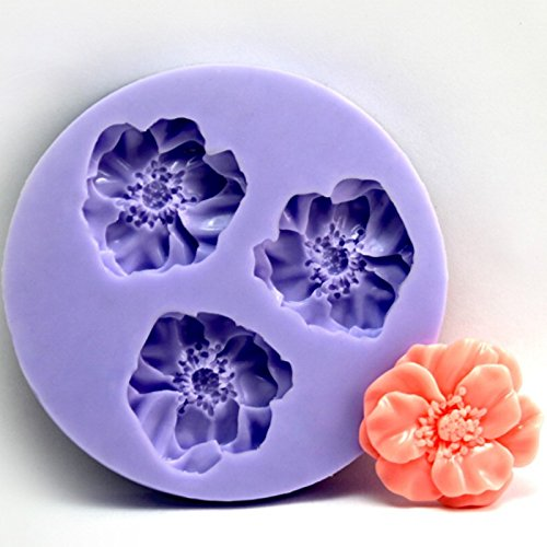[Delicate Flower Ball Mini Chocolate Cake Candy Mold] (Easy But Cute Halloween Treats)