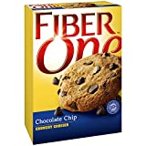 Fiber One NEW! Crunchy CHOCOLATE CHIP Cookies + FREE 19 oz Sports Beverage Bottle. 6 Cookies in Each Box (6 PACK). A total of 36 delicious cookies. You'll be one smart cookie! Review
