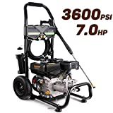 Best Honda Pressure Washers - Pujua 3600PSI 2.8GPM Gas Pressure Washer Power Washer Review