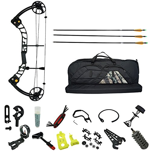Safari Choice Hunting Archery Deluxe Compound Bow Set Package