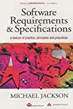 Software Requirements And Specifications (Acm Press Books)