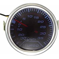 52mm universal blue led pointer turbo boost gauge meter psi