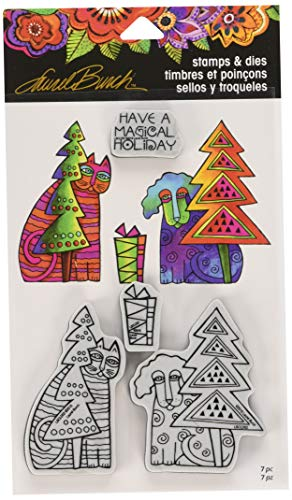 Stampendous Holiday Friends Cling/Die -
