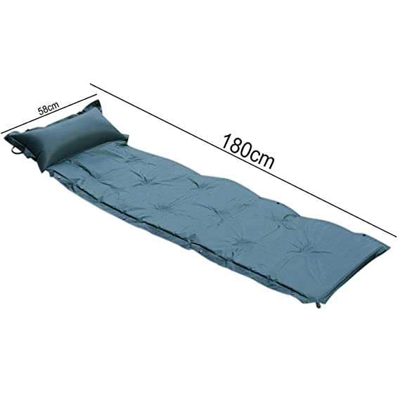 Amazon.com : SHDIOU Himanjie Automatic Inflatable Cushion Outdoor Moisture-Proof Pad Sleeping Pad Tent Camping Mat Singleplayer Patchwork Cushion : Sports & ...