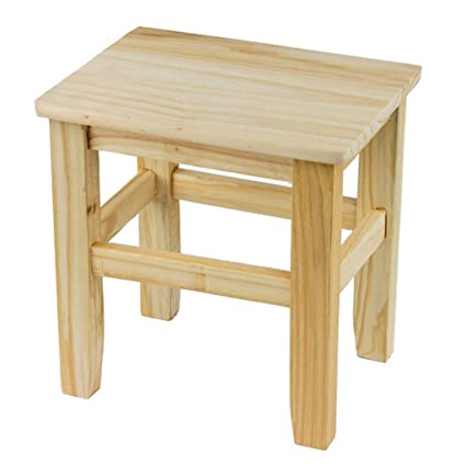 Phenomenal Amazon Com Zhzhpsfd Household Wood Stool Creative Bench Theyellowbook Wood Chair Design Ideas Theyellowbookinfo