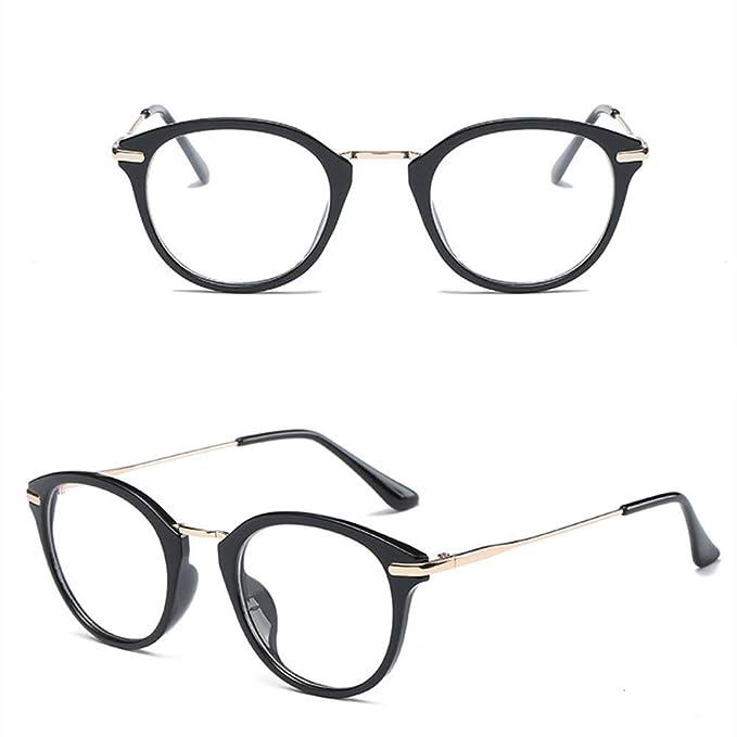 litbest Gafas Transparentes, Universal para Hombre y Mujer ...