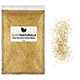 SoapNaturals Cosmetic Grade Glitter for Bath Bombs - Safe for Skin, Bulk 1/2 Pound 8 Ounce | Medium Fine, Iridescent Shimmer | Wholesale Soap Making Supplies for Cosmetics