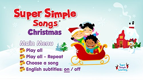 amazoncom super simple songs christmas dvd movies tv - Super Simple Christmas Songs