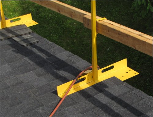Acro Building Systems Open Edge Guardrail System Bracket and ()