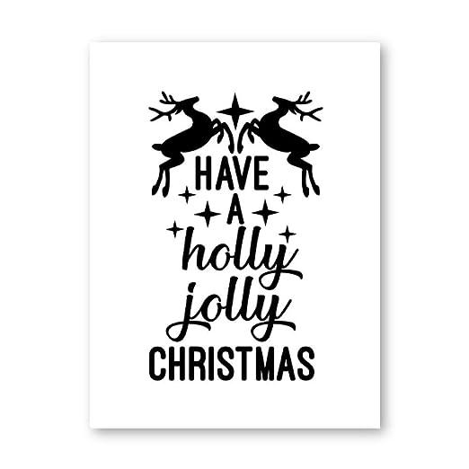 Decoración de la fiesta de Navidad Feliz Navidad Citas ...