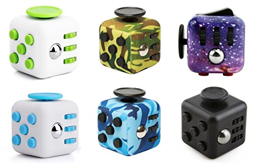 Oliasports Fidget Cube Relieves Stress & Anxiety, Random Color