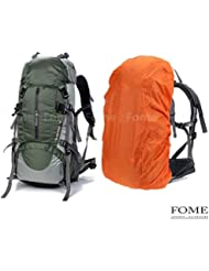 Hiking Daypack, iDeep 45L+5L Unisex Camping Backpack Outdoor Sport Nylon Water-resistant Internal Frame Hiking...