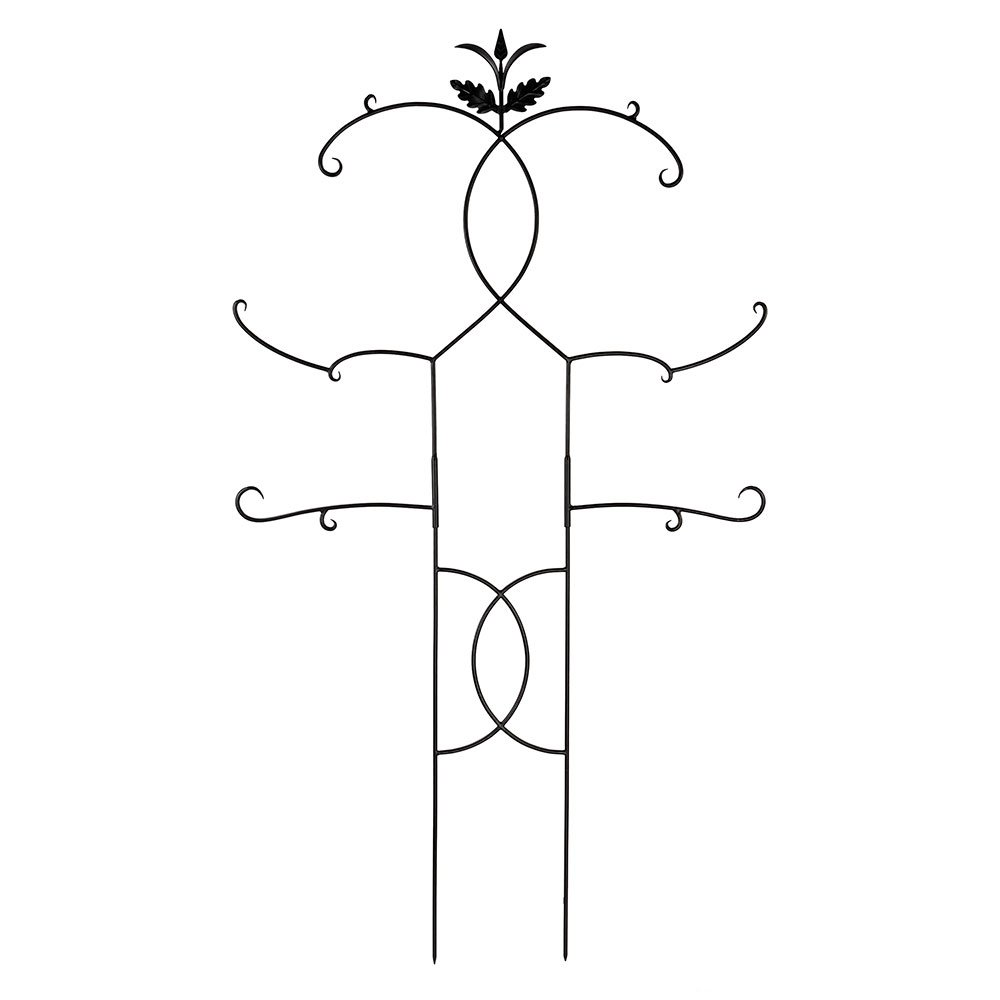 Achla Designs Tendrils II Wrought Iron Garden Trellis