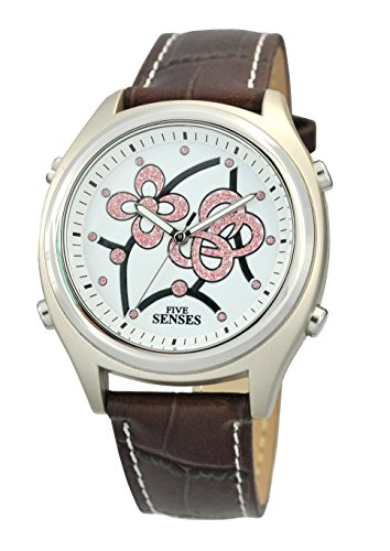 Atomic Talking Watch - Sets Itself Senses Women's Crystal Stylist Talking Watch (1193)(M104)
