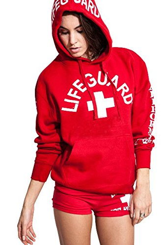 LIFEGUARD Women's West Coast Hoodie Sweatshirt Authentic FLG-761-R-S-$P