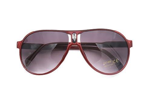 Westeng Gafas de Sol para Niños Polarizadas Prevención UV Chico y Chica Joven (rojo)