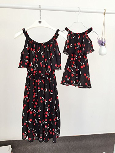 韓国ファッション サマードレス レディースファッション 夏季 親子ペア ママと娘 おそろい服 親子服 家族お 母さん子 お揃い服 ペアルック ドレス コーデ ワンピース キッズ服 子供服 姉妹