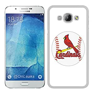 Newest Samsung Galaxy A8 Case ,Popular And Beautiful Designed Case With St Louis Cardinals white Samsung Galaxy A8 Screen Cover High Quality Phone Case