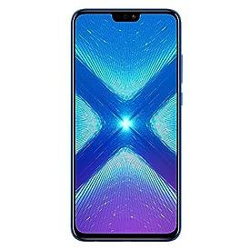Huawei Honor 8X (64GB + 4GB RAM) 6.5″ HD 4G LTE GSM Factory Unlocked Smartphone – International Version No Warranty JSN-L23 (Blue)