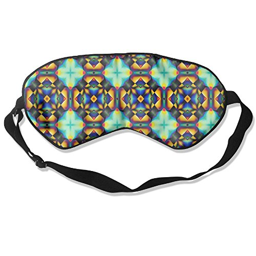 Sleep Mask Result Pattern Eye Cover Blackout Eye Masks,Soothing Puffy Eyes,Dark Circles,Stress,Breathable Blindfold For Women Men by MB32