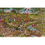 Jumbo 01496 - Jan van Haasteren - Der Park - 3000 Teile