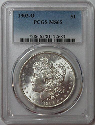 1903 O Morgan Silver Dollar $1 MS65 PCGS