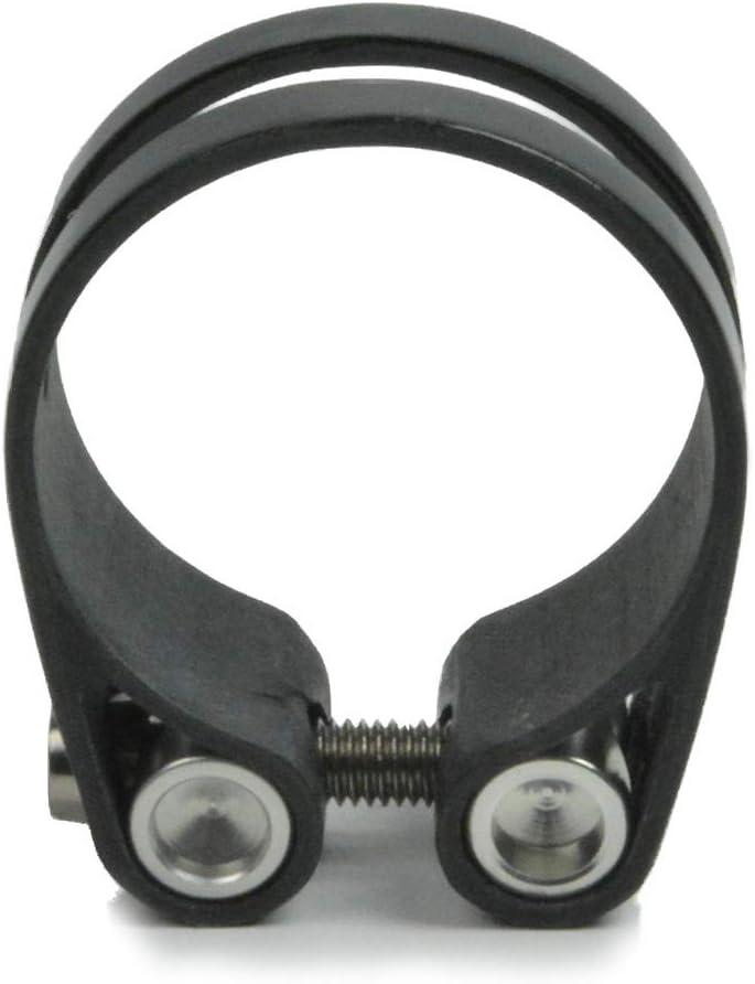 OMNI Racer Worlds LIGHTEST Race-Lite Carbon Titanium Seatpost Clamp 31.8 or 34.9mm