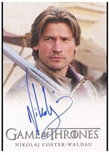 Game of Thrones Season Two 2 Autograph Card Nikolaj Coster-Waldau