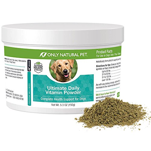 (Only Natural Pet Ultimate Daily Canine Vitamins Plus 5.3 oz)
