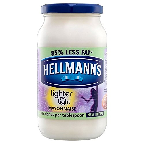 Hellmann's Lighter Than Light Mayonnaise (400g) - Pack of 6