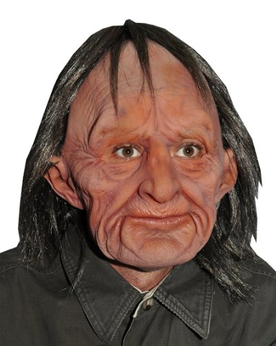 Supersoft Old Man Adult Mask Size (Halloween Masks Coloring)